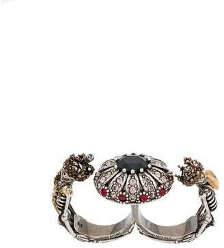 Alexander McQueen knuckle duster ring