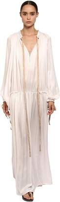 Ann Demeulemeester Light Viscose Long Dress