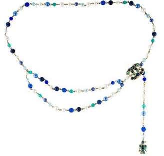 Chanel CC Pearl & Bead Strand Belt