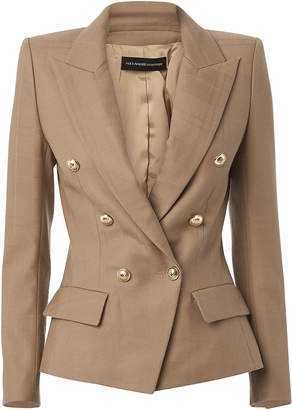 Alexandre Vauthier Double-Breasted Wool Blazer