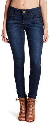 Democracy 'AB' Technology Ankle Skimmer Jean (Petite) $68 thestylecure.com