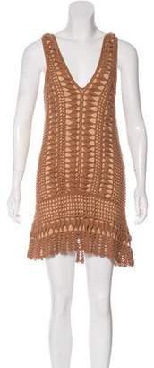 Melissa Odabash Crochet Mini Dress