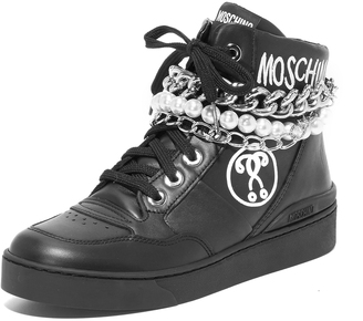 Moschino Moschino Sneakers $595 thestylecure.com