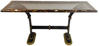 One Kings Lane Vintage Maitland Smith Horn Brass Console Table - Von Meyer Ltd.