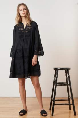 Velvet by Graham & Spencer NURIA COTTON LACE BELL SLEEVE DRESS
