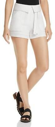 Aqua Fold-Over Utility Shorts - 100% Exclusive