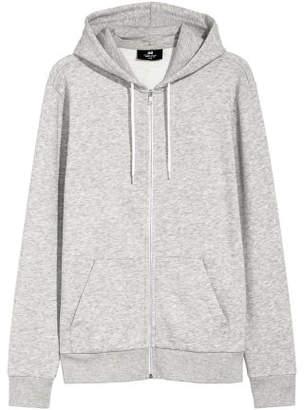 H&M Hooded Jacket Regular fit - Gray