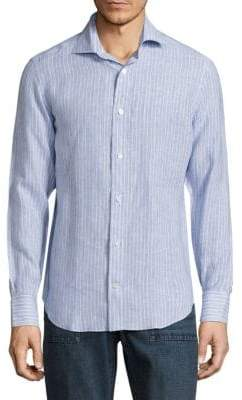 Eleventy Regular-Fit Button-Down Shirt