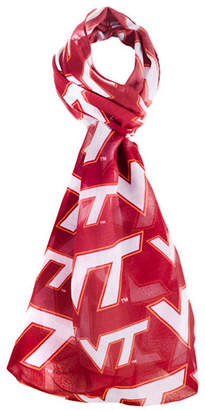 Forever Collectibles Virginia Tech Hokies All Over Logo Infinity Scarf