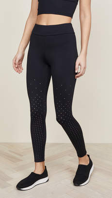 Cushnie et Ochs Annabelle Perforated Leggings