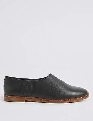 Marks and Spencer Leather Low Cut Loafers