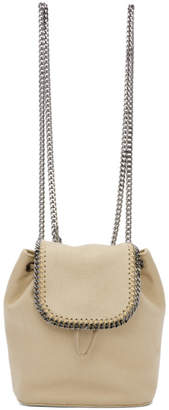 Stella McCartney Beige Mini Falabella Backpack