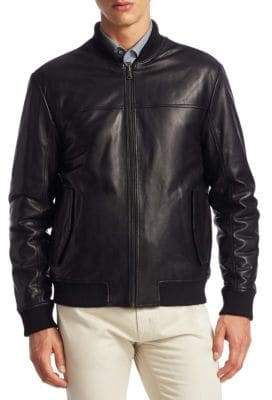Saks Fifth Avenue COLLECTION Reversible Varsity Jacket