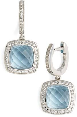 Women's Lafonn 'Aria' Square Drop Earrings $500 thestylecure.com