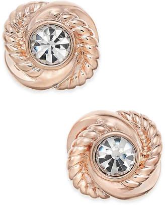 Kate Spade Infinity & Beyond Crystal Knot Stud Earrings