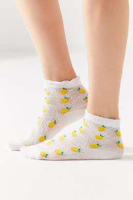 Urban Outfitters Pointelle Icon Ankle Sock