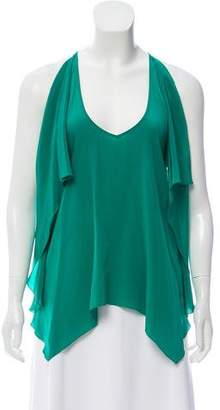 Yigal Azrouel Cut25 by Silk Sleeveless Top