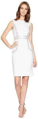 Calvin Klein Embellishment Detail Sheath Dress CD8M15LK Women's Dress