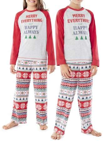Family PJs Family Sleep Merry Everything Pajamas 2-Piece Set