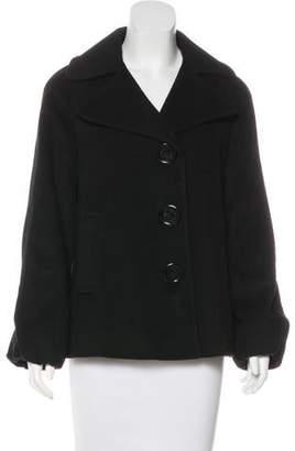 MICHAEL Michael Kors Wool Button-Up Jacket