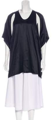 Alexander Wang Silk Cutout Tunic Silk Cutout Tunic