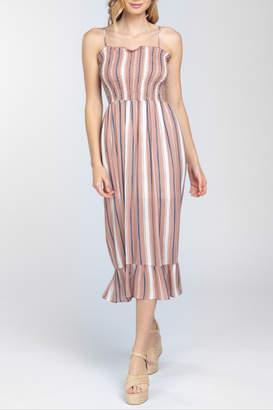 Everly Smocked Midi Dress