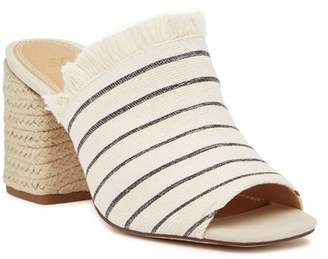 Splendid Baron Fringed Block Heel Slide