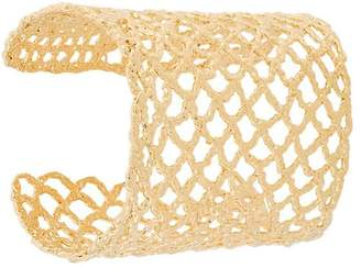 Maison Margiela lattice cuff bracelet