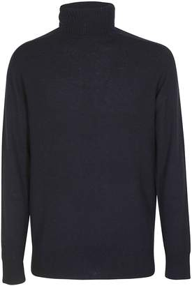 Paolo Pecora Vintage Ribbed Turtleneck Sweater