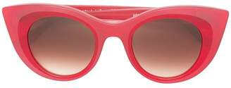 Thierry Lasry red cat eye sunglasses