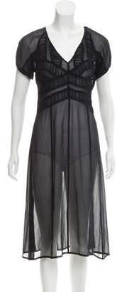 Paul & Joe Silk Midi Dress