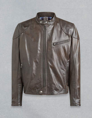 Belstaff Supreme Motorcycle Jacket Brown