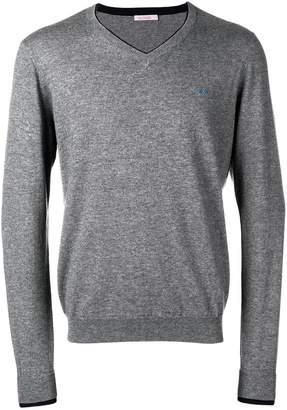 Sun 68 light v-neck sweater