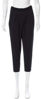 Helmut Lang HELMUT Mid-Rise Pleated Pants