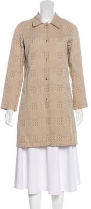 Burberry Lightweight Knee-Length Coat
