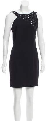 Anthony Vaccarello Grommet-Accented Mini Dress