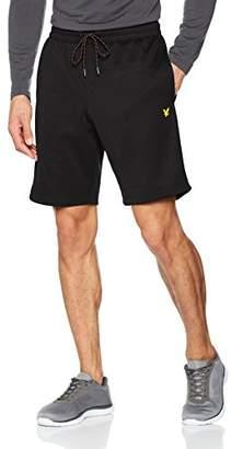 Lyle & Scott Fitness Men's Randall Fleece Sports Shorts,(Manufacturer Size: M)