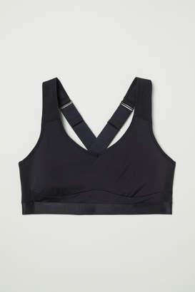H&M Sports Bra High support - Black