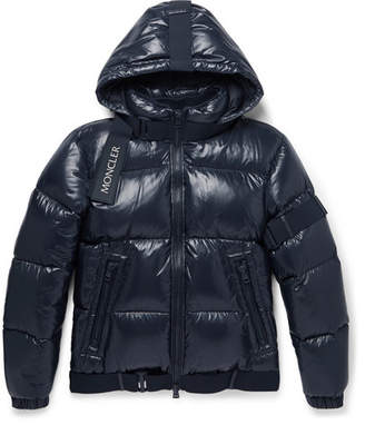 Moncler C Quilted Shell Down Hooded Jacket