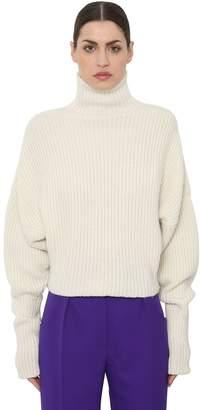 Petar Petrov Turtleneck Cashmere Rib Knit Sweater