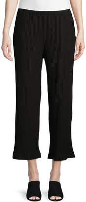 Eileen Fisher Ribbed Stretch Cropped Pants