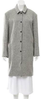 Acne Studios Wool-Blend Knee-Length Coat