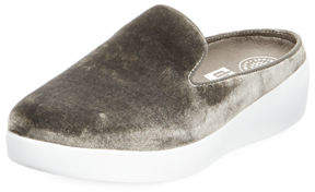 FitFlop SuperSkate Velvet Mule Sneakers