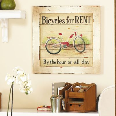 Bikes for Rent Print