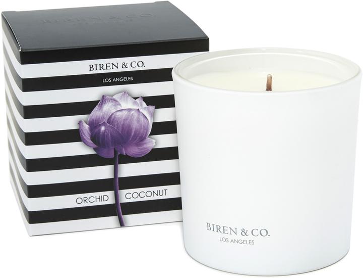 Biren & Co. Orchid Coconut Candle