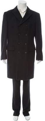 Dolce & Gabbana Peak Lapel Overcoat