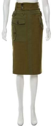 Tom Ford Wool Knee-Length Skirt