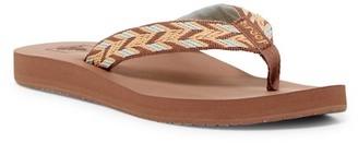 Reef Mid Seas Flip Flop (Women) $30 thestylecure.com