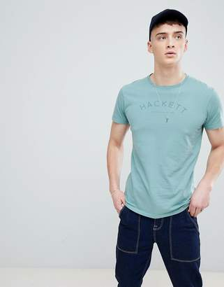 Hackett Mr. Classic Logo T-Shirt in Green
