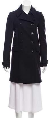 Joseph Knee-Length Wool Coat